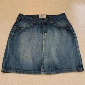 Denim mini skirt Sz 6